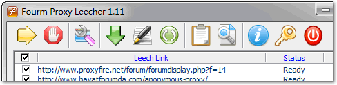 Forum Proxy Leecher